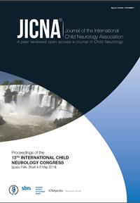 Proceedings of the13TH INTERNATIONAL CHILDNEUROLOGY CONGRESSIguazu Falls, Brazil 4-8 May 2014